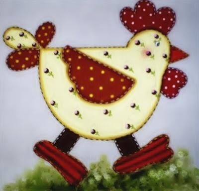 galinha-pintura-em-tecido