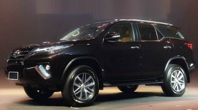 Toyota Fortuner 2019 Redesign