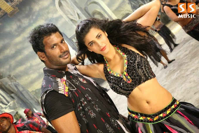 Vishal, Shruti Haasan from  Poojai Photoshoot HD Pictures