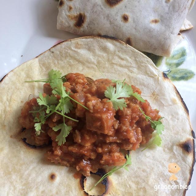 Burrito de chilli