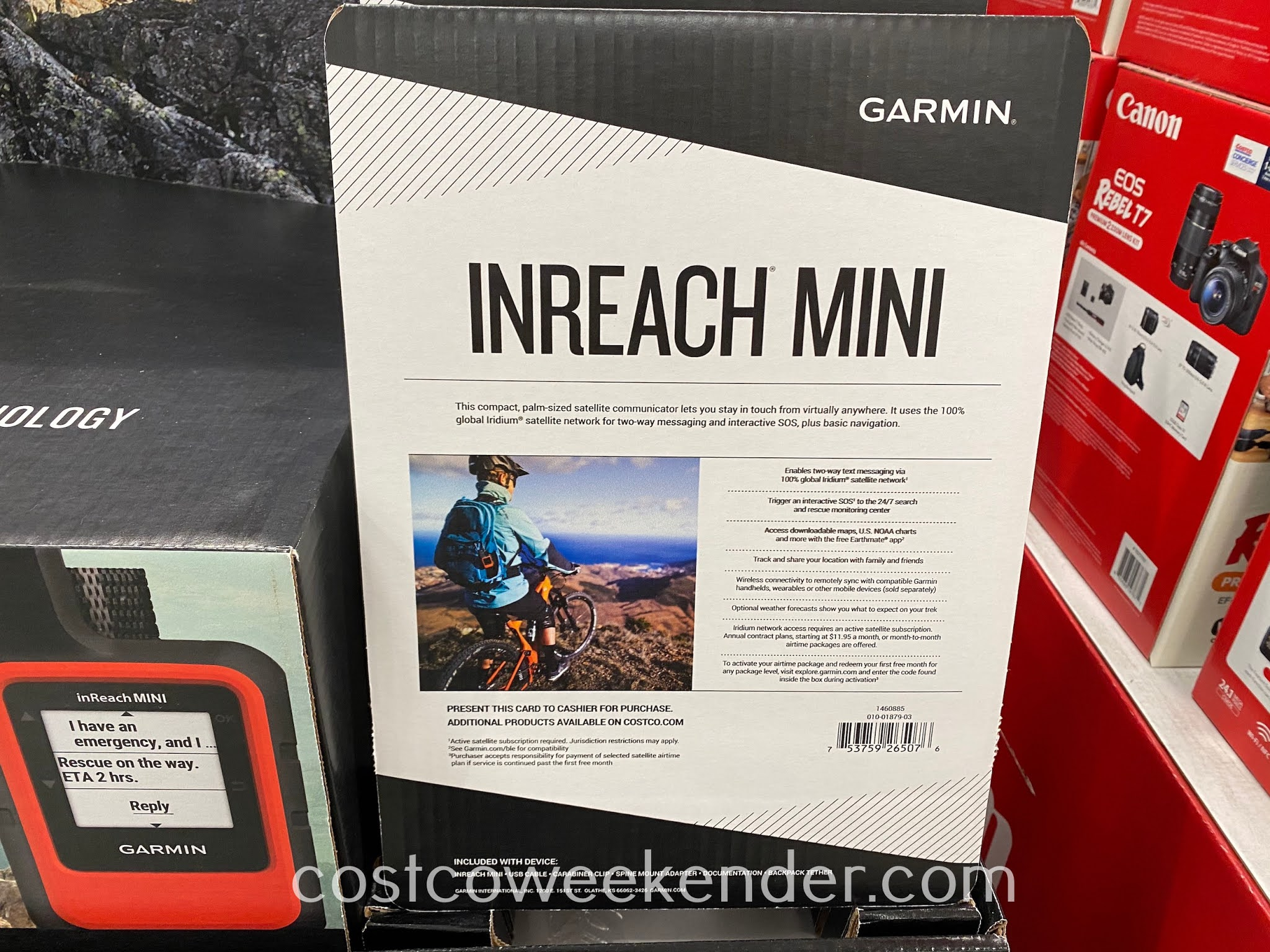 Costco 1460885 - Garmin inReach Mini Bundle: great for the backcountry and essential in an emergency
