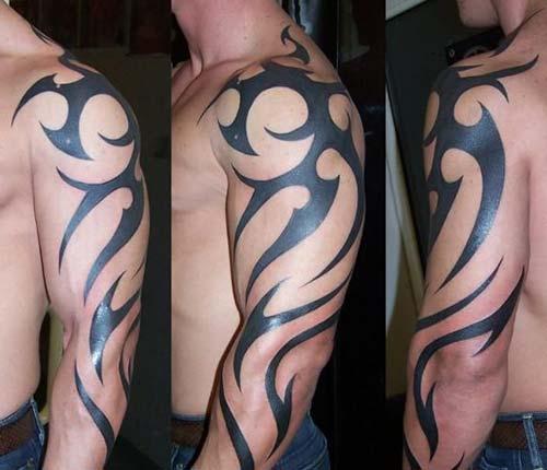 erkek tribal dövmeler man tribal tattoos 18