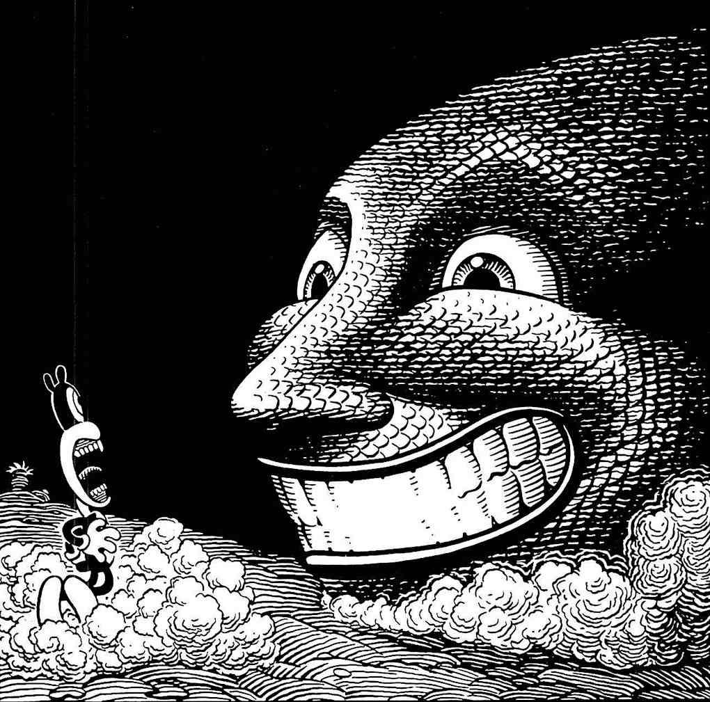 a Jim Woodring illustration