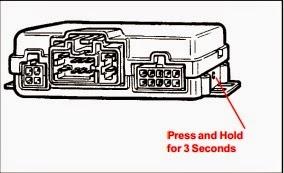 1999 Toyota camry alarm remote