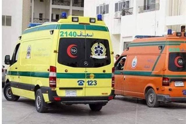 إصابة عامل صدمتة سيارة نقل حال عبوره الطريق فى دار السلام بسوهاج