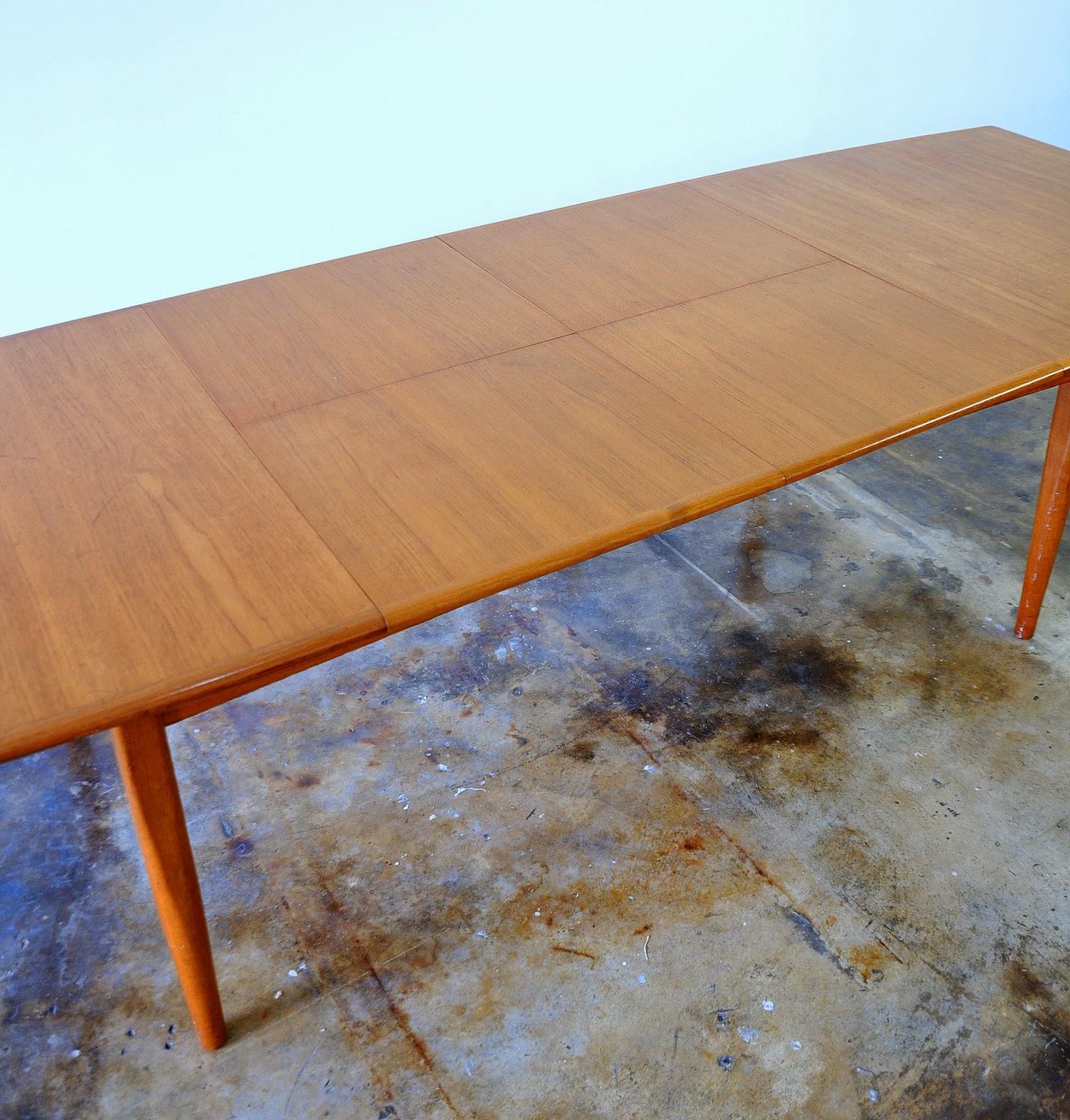 SELECT MODERN Falster Teak Expandable Dining Table : DanishModernFalsterTeakDiningTable15 from midcenturymoderndesignfinds.blogspot.com size 1528 x 1600 jpeg 530kB