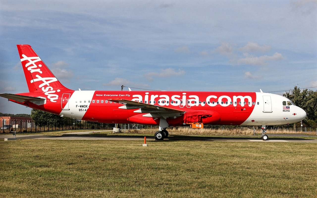 Airbus A320neo of AirAsia December 2018 Delivery