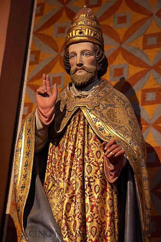 São Leão IX, imagem em Eguisheim