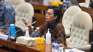 Sri Mulyani Blak-blakan Jelaskan Soal 'Klaster Selundupan' dalam UU Cipta Kerja