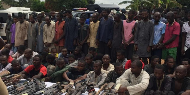 Photo of Over 100 Armed Robbery Suspects Arrested by Police On Mile 2-Badagry Expressway