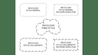 cara membuat revisi cloud di autocad