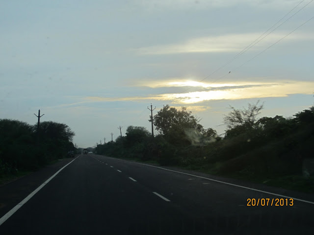 evening in bharatpur
