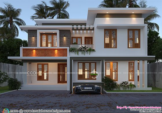4 bedroom modern house architecture