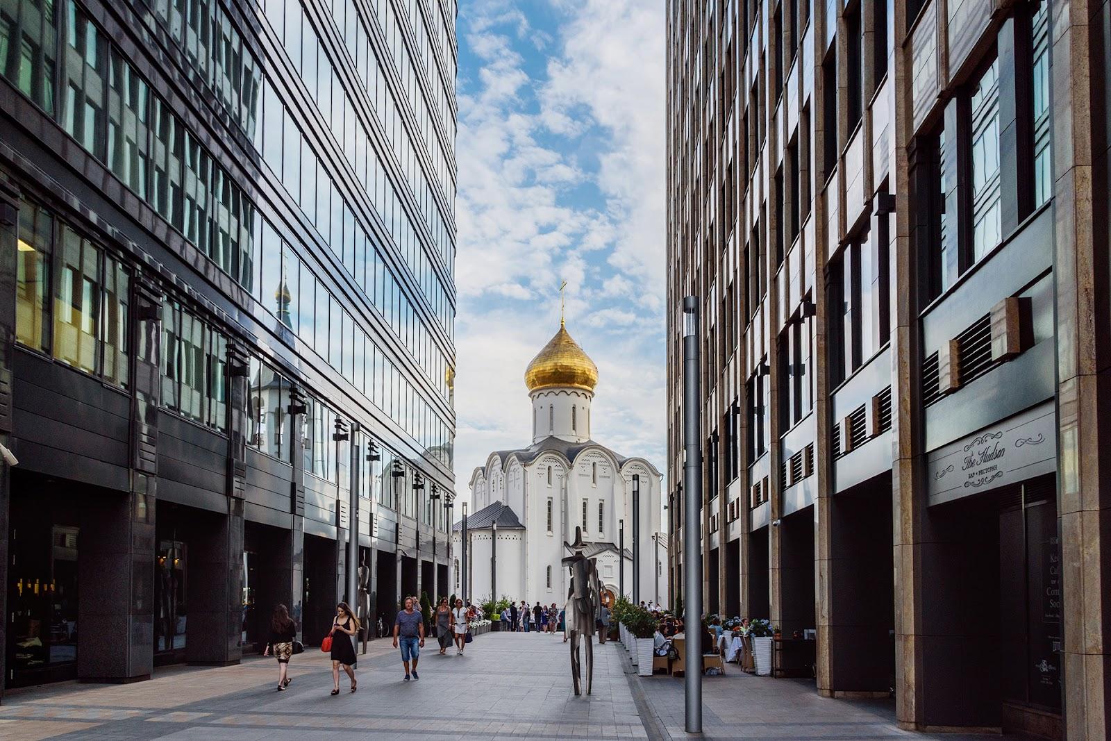 Белая площадь. Москва