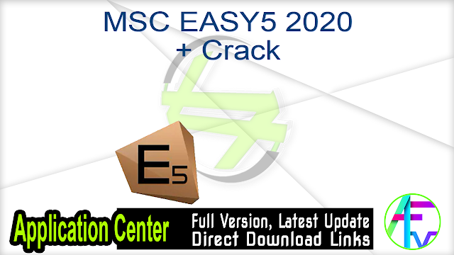 MSC EASY5 2020 + Crack