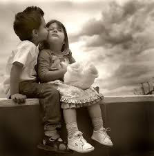 Top latest hd Baby Boy to Girl frist kiss images photos pic wallpaper free download 44