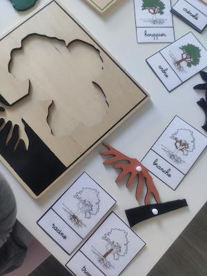 mes filles et moi puzzle arbre montessori activités automne
