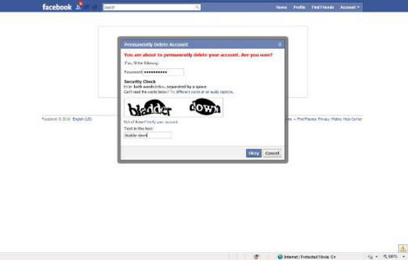 How Can I Delete My Facebook Account Link