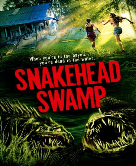 Snakehead Swamp 2014 Dual Audio [Hindi-English] HDRip 480p ESub 450MB Download