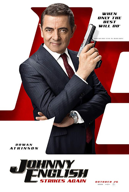 Johnny English Strikes Again 2018 movie poster Rowan Atkinson