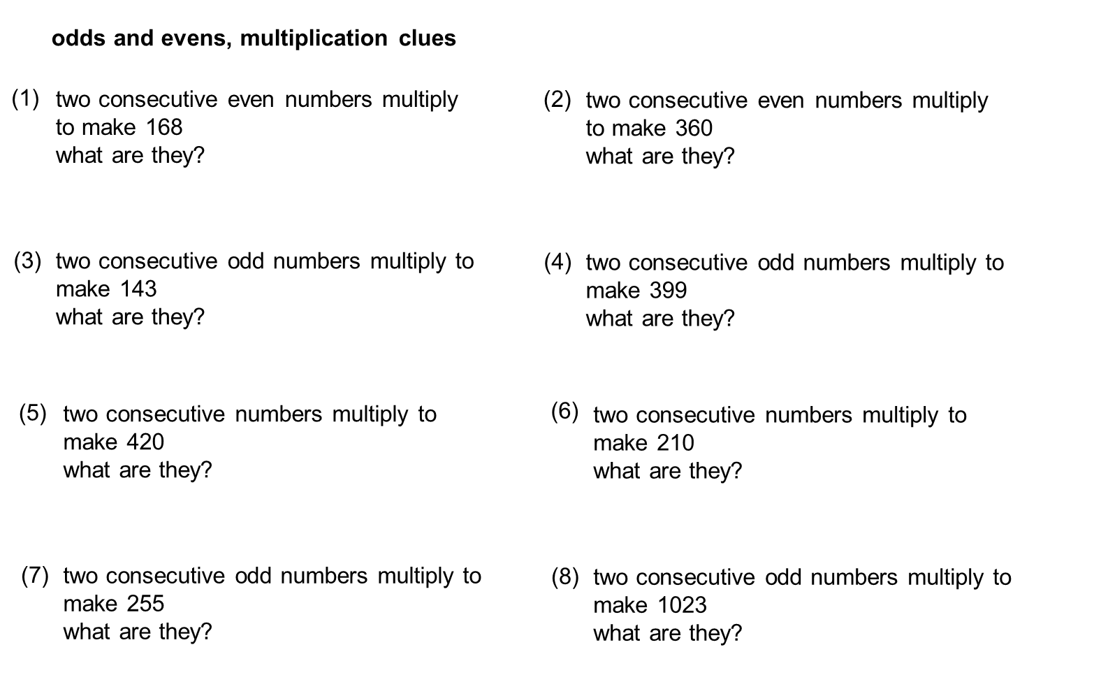 Median Don Steward Mathematics Teaching Odd And Even Numbers