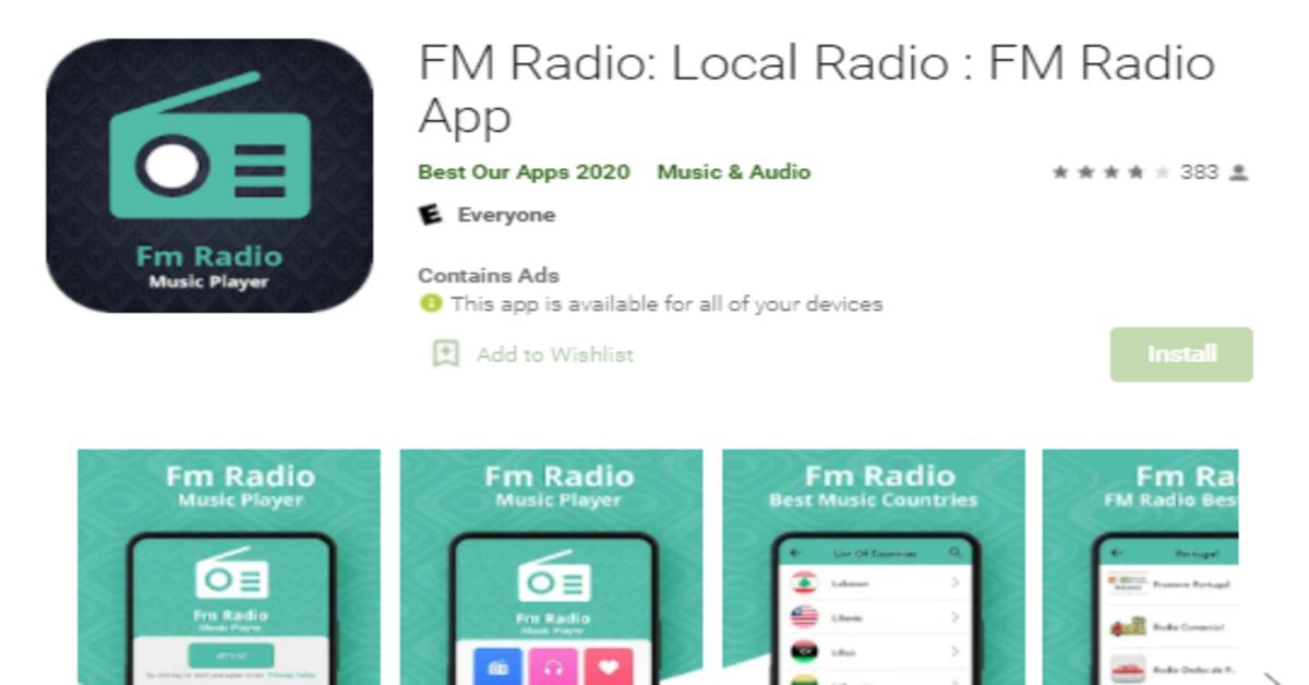 local radio fm radio app