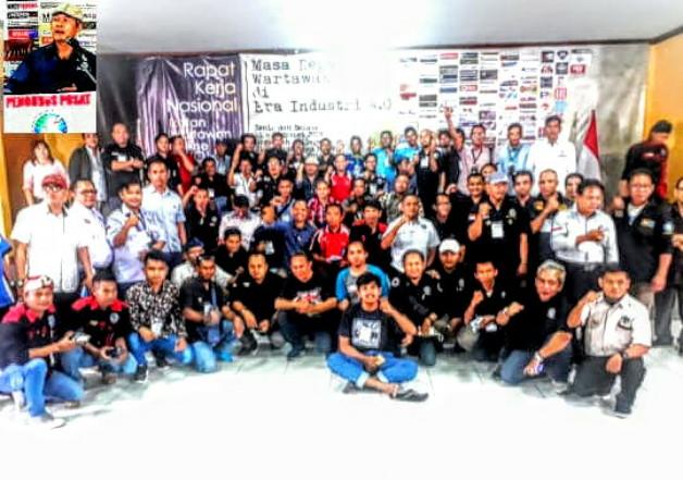Rakernas Pertama IWO diikuti sebanyak150 Pengurus seluruh Indonesia