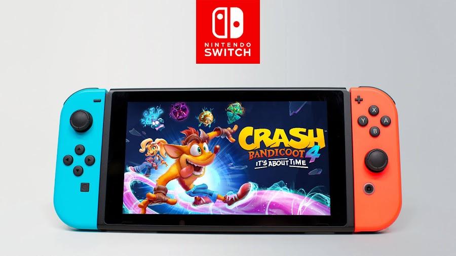 crash bandicoot 4 it's about time nintendo switch official website script code leak platform game toys for bob activision