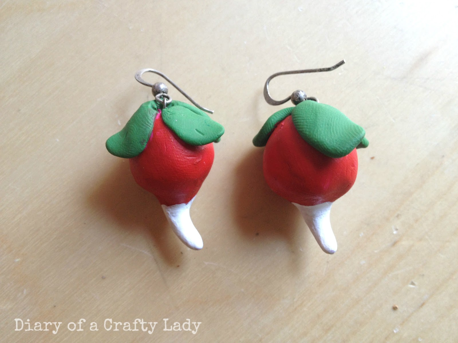 radish earrings diary of a crafty lovegood costume from harry 3971
