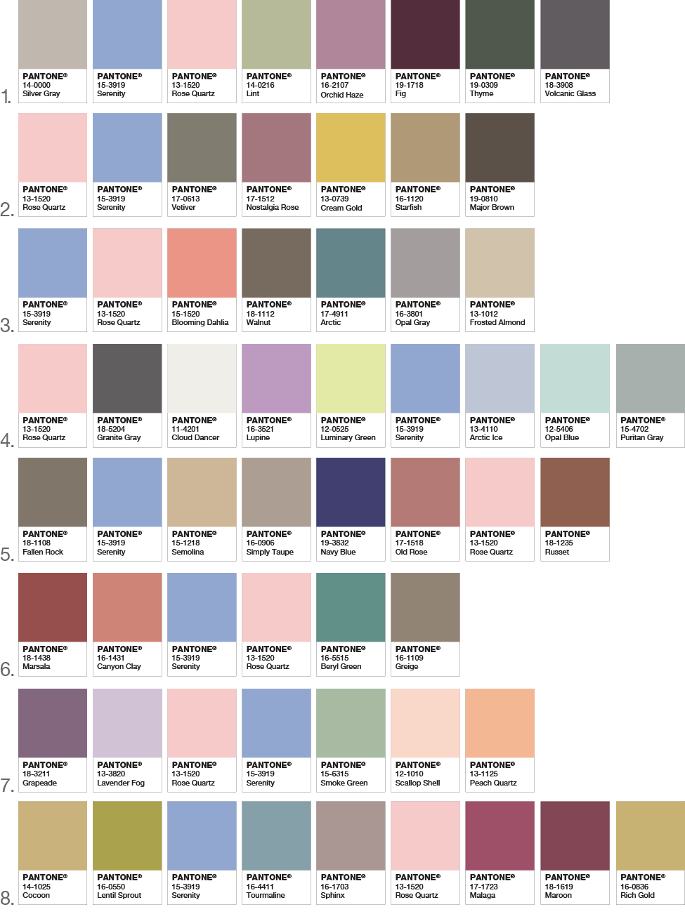 Download this chart and send us your selected color for to take as reference please be aware that colors may slightly affected with printing also wedding inkpressive invitations rh inkpressiveinvitationsspot