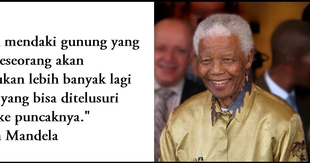 Kumpulan Kata Bijak Nelson Mandela Terbaik Ydhartono Com