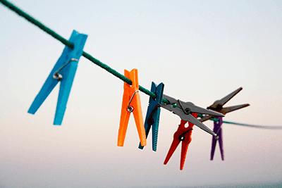 Lavar e cuidar das roupas