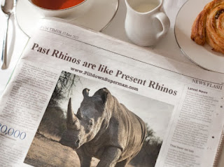 Rhinoceros fossils were discovered, and those bad boys were much larger than those we have now. But they were still rhinos, no evolution happened.