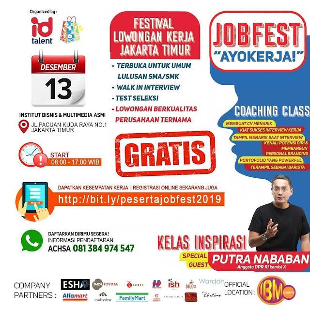Job Fair Jakarta Desember