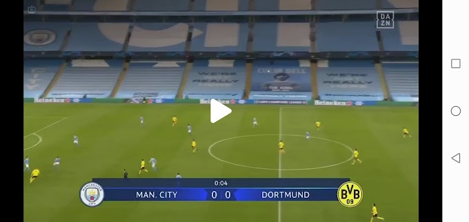 Manchester City  2:1  Dortmund / Champions League