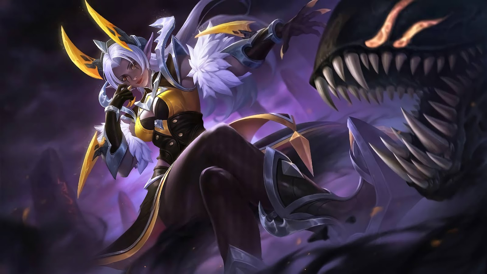 Wallpaper Selena Wasp Queen Skin Mobile Legends HD for PC