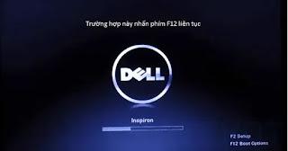 Truy cập Boot Option và chọn USBtự động cài đặt Windows của TekDT