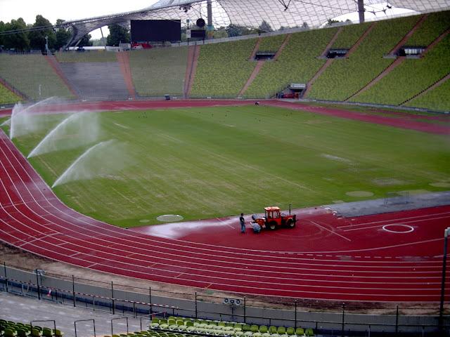 Olympiastadion München from Olympiastadion münchen innen