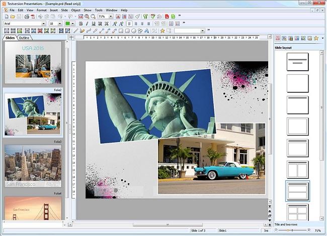 Ashampoo Office Free - Presentations