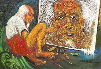 Lukisan karya Affandi Koesoema pelukis Indonesia - berbagaireviews.com