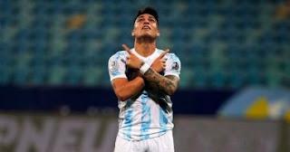 تغيب المهاجم لوتارو مارتينيز عن مباراة المنتخب الأرجنتيني ضد باراجواي