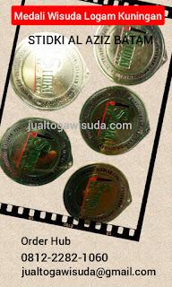 bikin medali wisuda logam di Batam