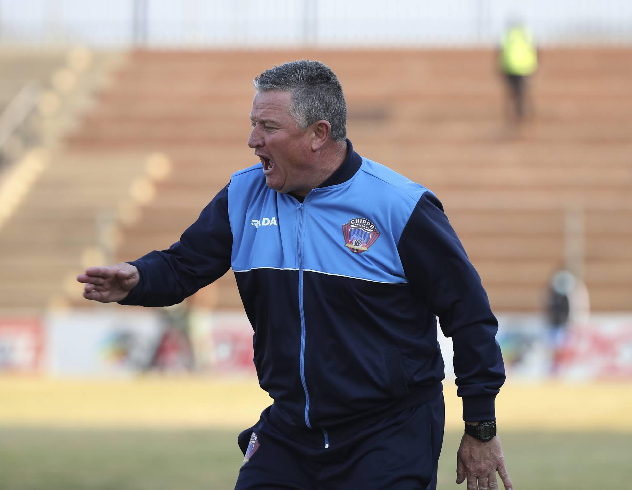 Chippa United head coach Gavin Hunt