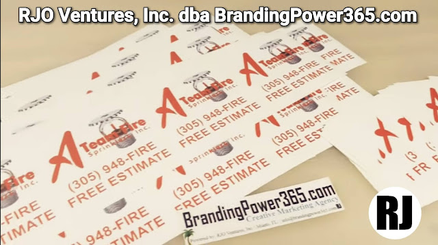 A Team Fire Sprinklers' High Quality Labels/Stickers by BrandingPower365.com; Powered by: RJO Ventures, Inc.