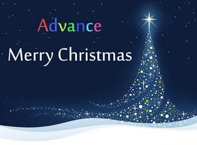 Advance Merry Christmas Wishes Images