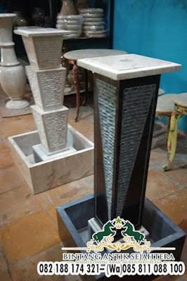 Model Air Mancur Taman, Air Mancur Batu Marmer