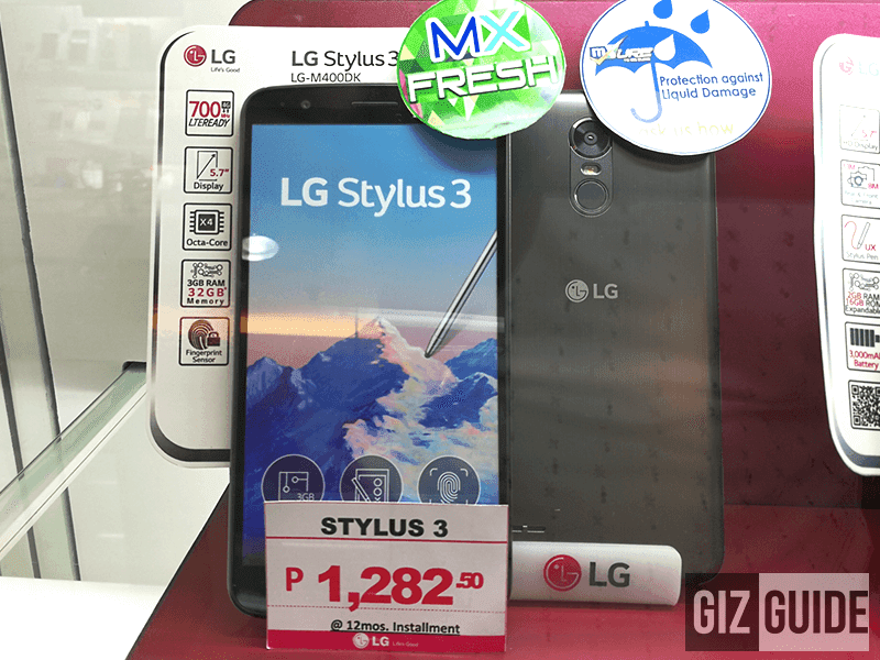 LG Stylus 3 Now In The Philippines