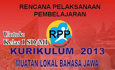 RPP Muatan Lokal (Mulok) Kurikulum 2013 Bahasa Jawa Kelas 1 SD/MI