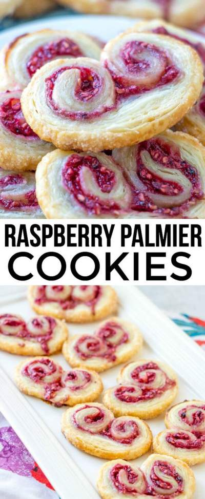 RASPBERRY PALMIER COOKIES