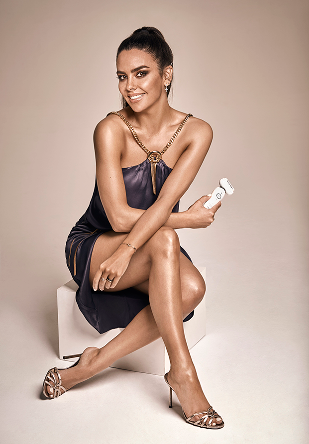 Cristina Pedroche, embajadora de la nueva Silk-épil 9 Flex de Braun